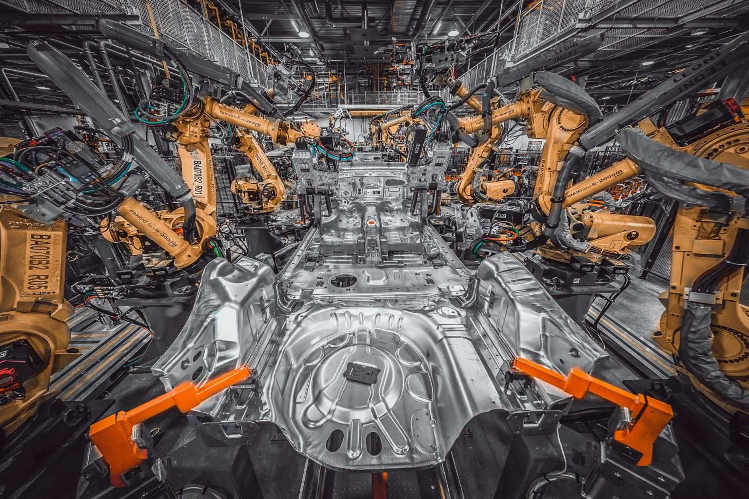 Valiant TMS Automotive Body in White Underbody Welding and Assembly Line