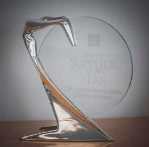Valiant TMS - General Motors Supplier of the Year Award