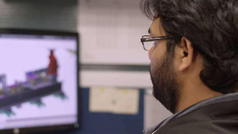 Valiant TMS designer working in Autodesk Inventor® software