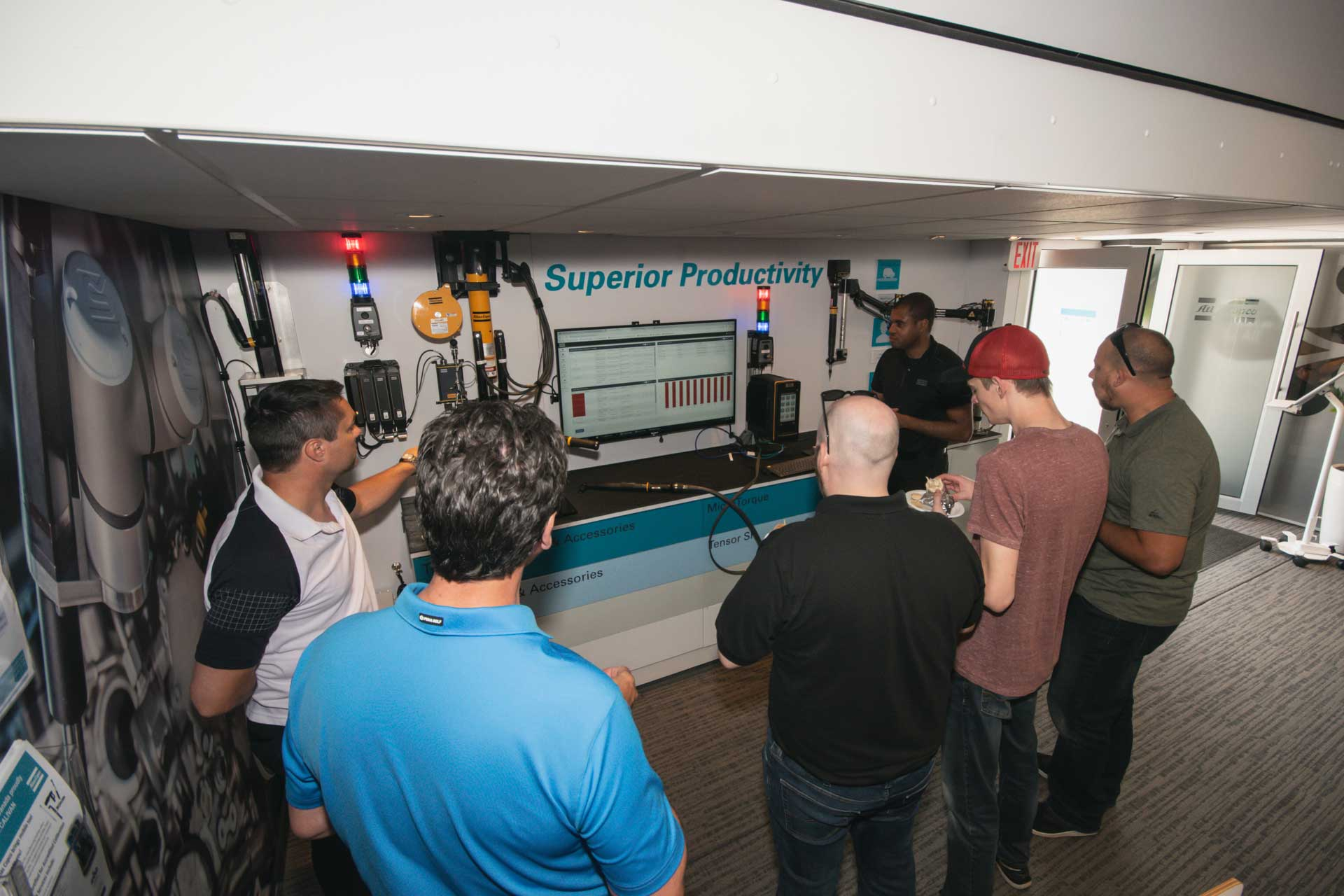 Atlas Copco Smart Connected Roadshow at Valiant TMS
