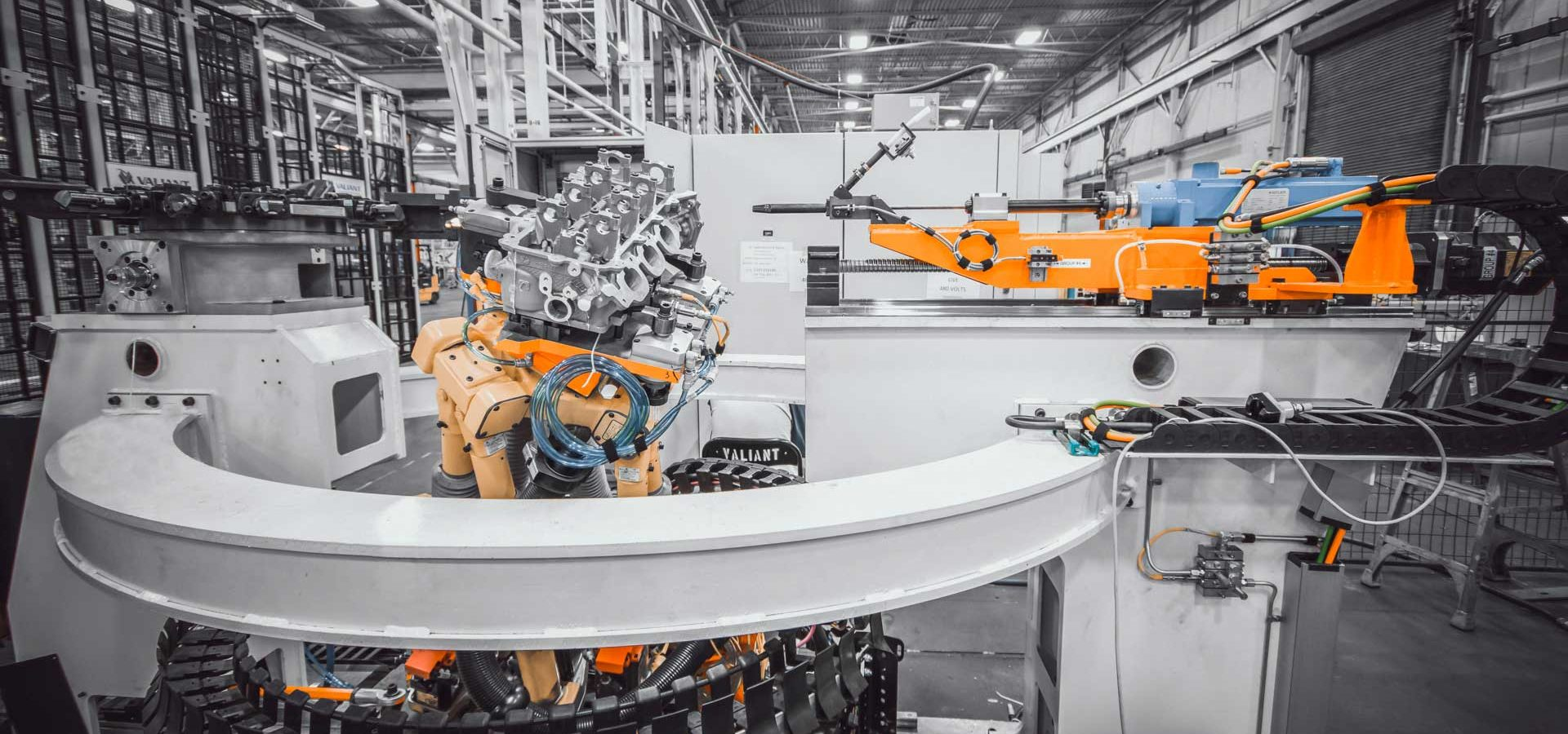 Valiant TMS - Automotive - Ancilliary Equipment - Flexible Assembly Robot - Cylinder Head Ball Press