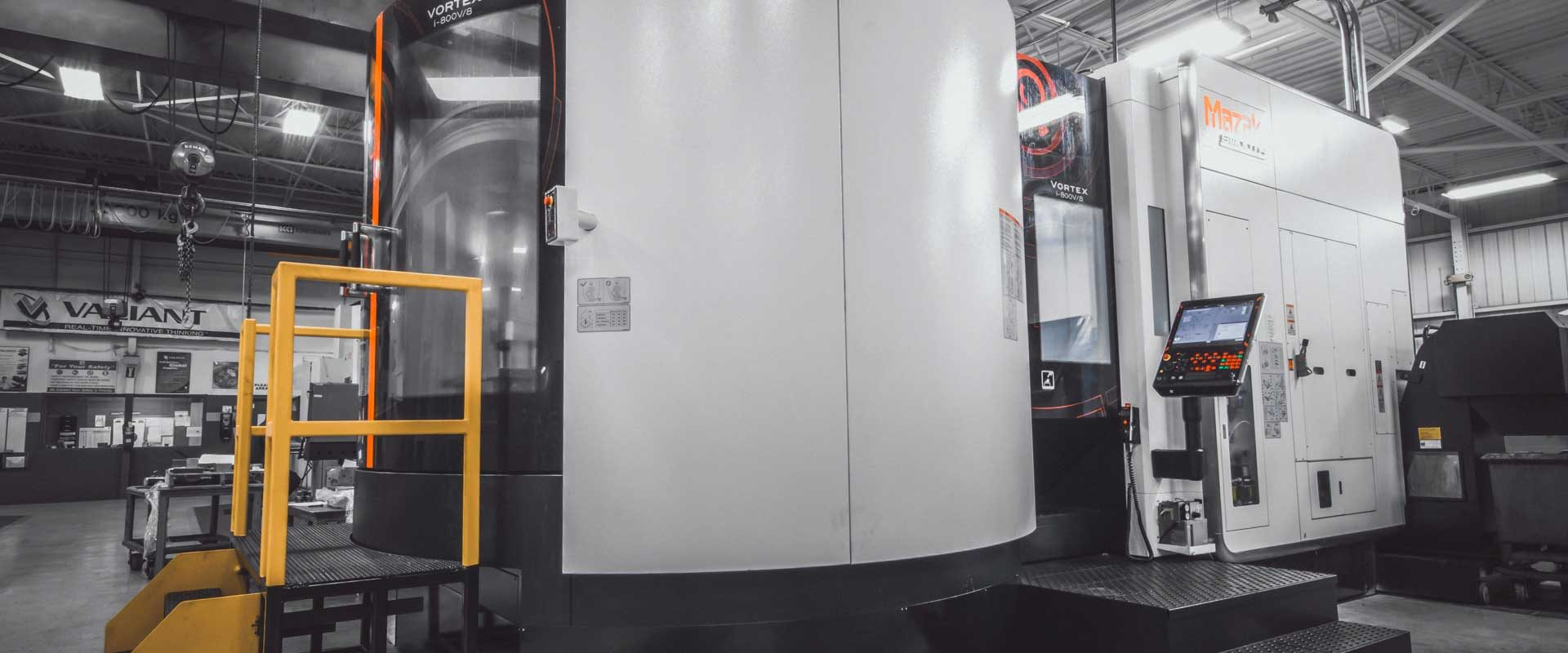 Valianttms Mold Mazak Iv800v8 Vertical Machining Center