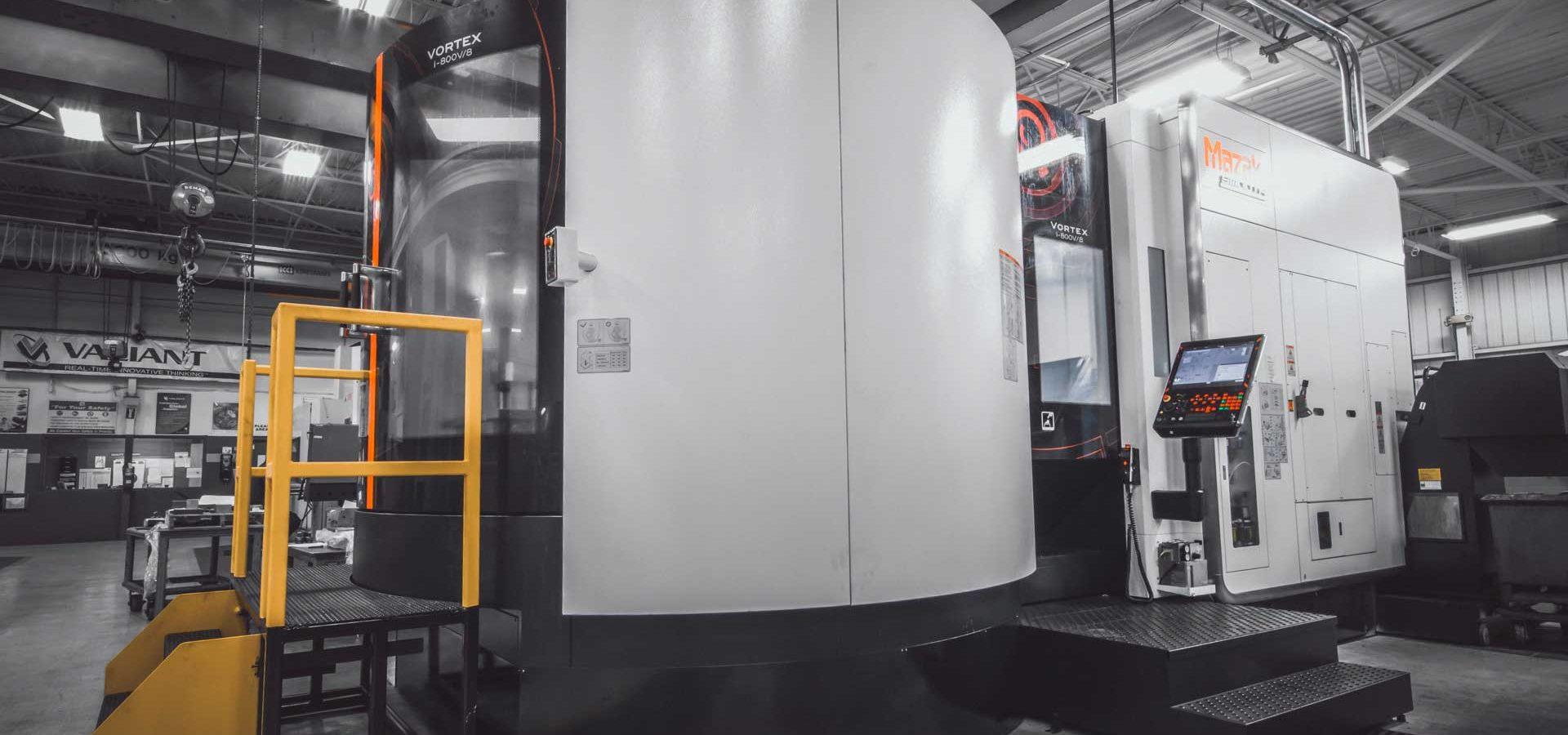 Valianttms Mold Mazak Iv800v8 Vertical Machining Center
