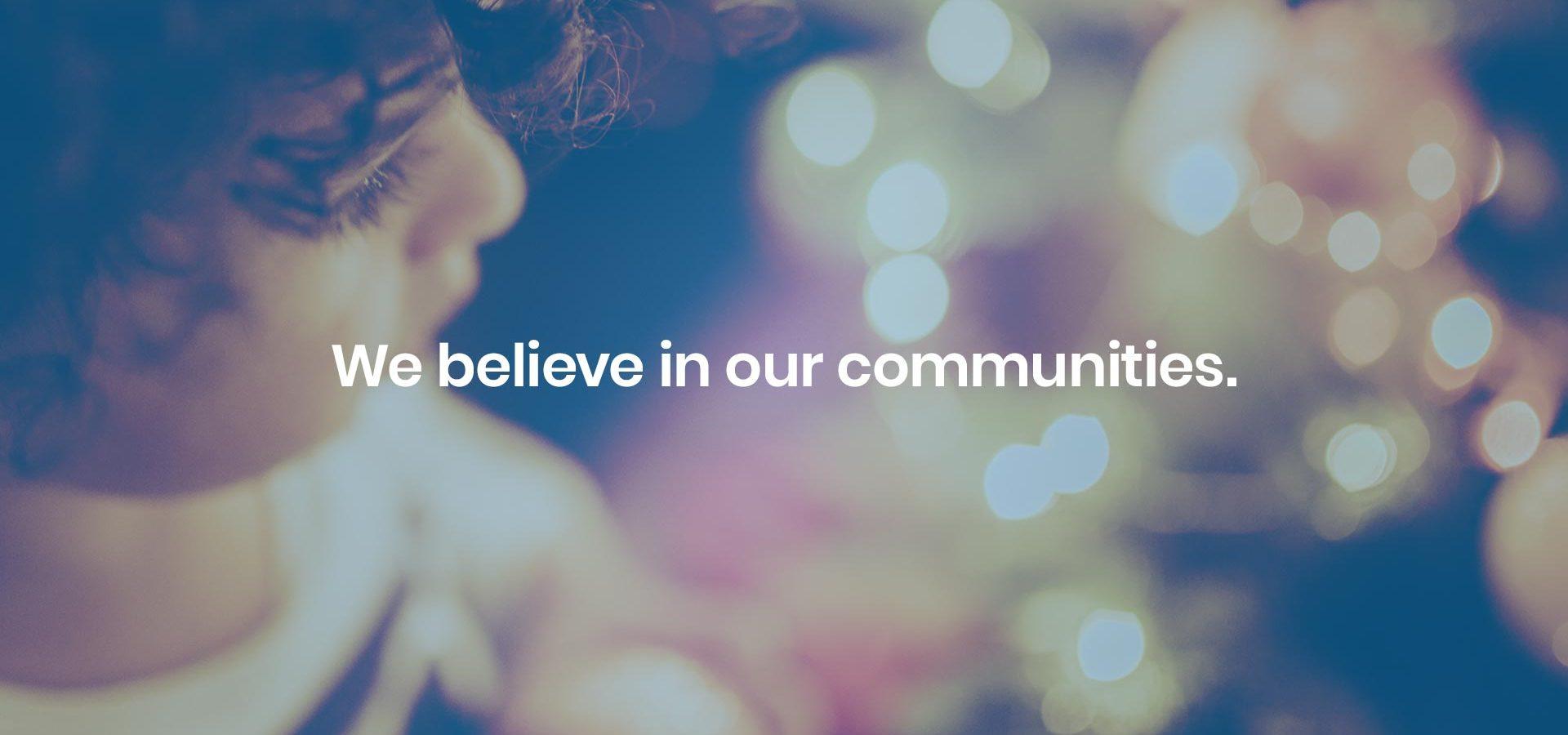 Valianttms We Believe Communities